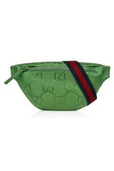 حقيبة حزام خضراء للأطفال