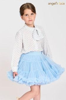 Angel's Face Blue Pixie Tutu Skirt