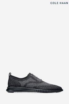 Cole Haan Black 2.Zerogrand Stitchlite Oxford Shoes