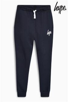 Navy  Hype. Drop Crotch Jogger