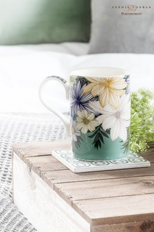 Set of 4 Portmeirion Atrium Floral Mugs