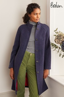 Boden Blue Cartwright Coat