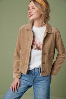 Camel Cord Jacket