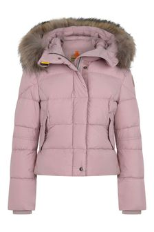 Girls Pink Bambi Down Padded Jacket
