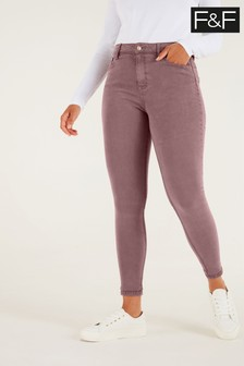 F&F Pink Super Soft Jeans