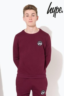 Hype. Crest Kids Crew Neck Sweater