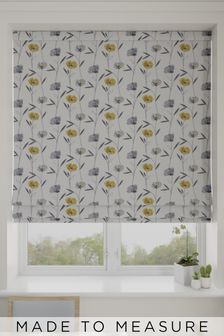 Izzy Sunflower Yellow Made To Measure Roman Blind