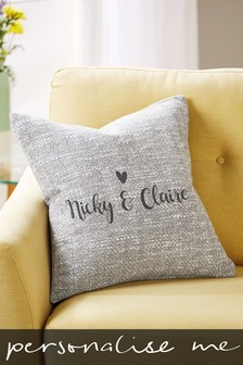 Personalised Couples Cushion