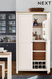 Cream Malvern Kitchen Larder Cupboard