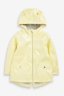 Yellow Glitter Rubber Mac (3mths-7yrs)