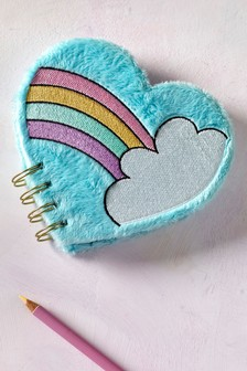 Rainbow Fluffy Notebook