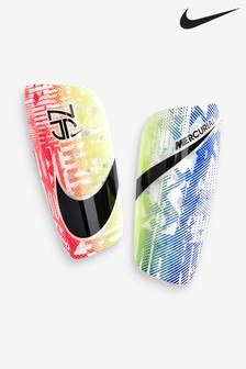Nike White Mercurial Lite Neymar Jr. Shin Guards