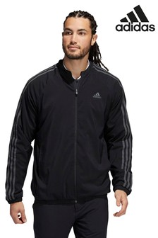 adidas Black Lined Golf Jacket