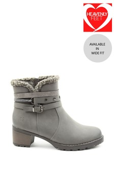 Heavenly Feet Fizz Ladies Ankle Boots
