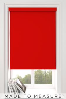 Haig Red Made To Measure Blackout Roller Blind
