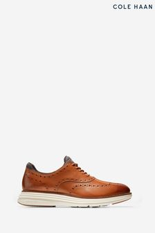 Cole Haan Brown Originalgrand Ultra Wing Oxford Shoes