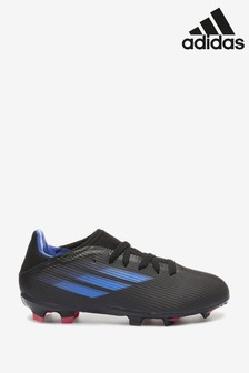 adidas Black X P3 Kids Firm Ground Football Boots