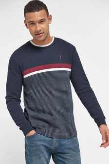 Navy Long Sleeve Soft Touch T-Shirt