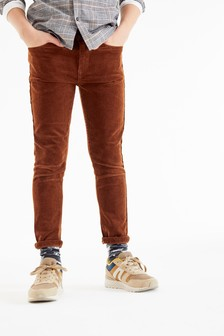 Ginger Skinny Fit Cord Trousers (3-16yrs)