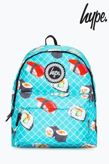 Hype. Blue Sushi Roll Backpack