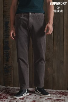 Superdry Straight Cord Five Pocket Trousers