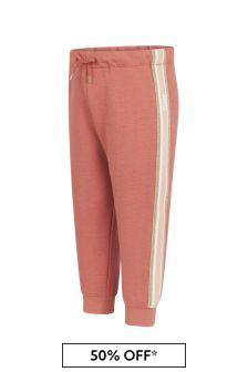 Girls Orange Jersey Trousers