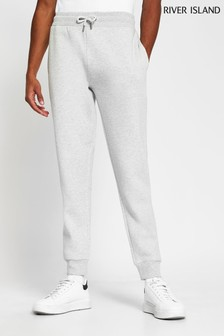 River Island Grey Slim Prolific MB Joggers