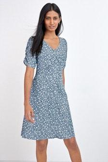 Ditsy Print TENCEL™ Tea Dress