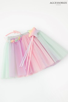 Accessorize Pink Rainbow Fairy Dress-Up Set