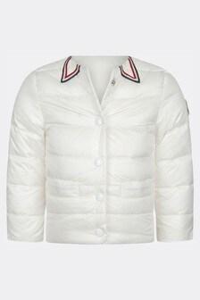 Baby Girls White Kendea Jacket