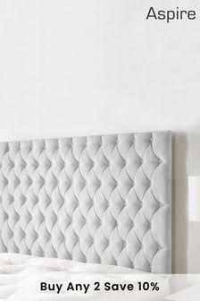 Silver Windermere Headboard by Aspire Furniture