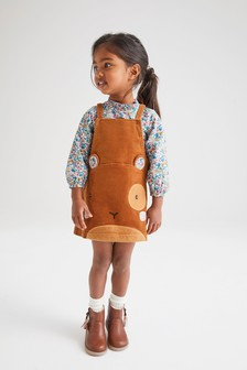 Mouse Pinafore And Blouse Set (3mths-7yrs)