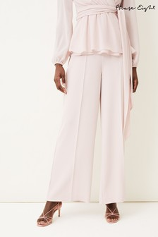 Phase Eight Pink Florentine Co-ord Trousers