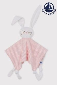 Petit Bateau Pink Comforter Bunny Toy