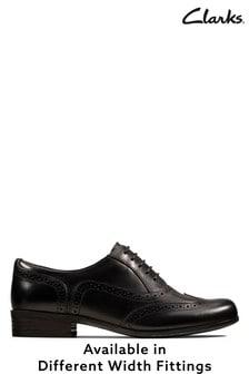 Clarks Black Hamble Oak Shoe