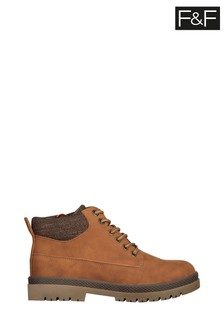 F&F Brown Work Boots