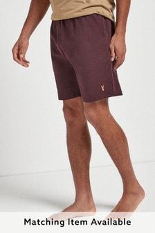 Plum Shorts Lightweight Loungewear