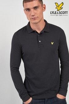 Lyle & Scott Long Sleeve Poloshirt