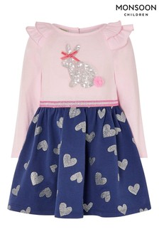 Monsoon Baby Bunny 2-in-1 Dress