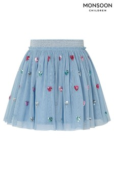 Monsoon Disco Heart Skirt