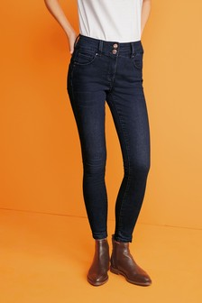 Inky Wash Lift, Slim And Shape Skinny Jeans
