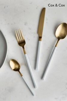 16 Piece Cox & Cox Cutlery Set