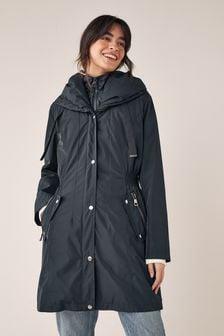 Navy Blue Premium Lightweight Rain Mac