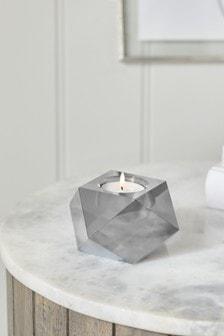 Luxe Crystal Glass Tea Light Holder