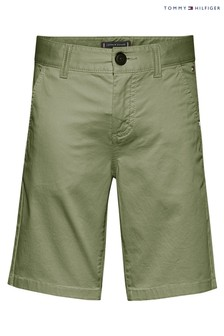 Tommy Hilfiger Green Essential Chino Shorts
