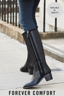 Black Forever Comfort® Long Boots