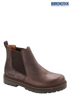 Birkenstock® Mocca Waxy Nubuck Chelsea Boots