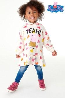 Cream Peppa Pig Hoodie (3mths-7yrs)