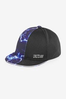 Navy/Black Lightning Cap (Older)