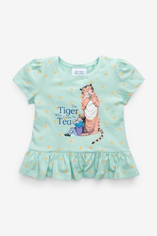 Blue The Tiger Who Came To Tea Licence T-Shirt (3mths-7yrs)